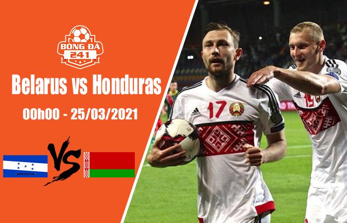 Soi kèo giao hữu ĐTQG, Belarus vs Honduras 00h00 ngày 25/3