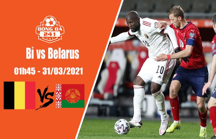 Soi kèo Bỉ vs Belarus, 01h45 ngày 31/3, VL World Cup 2022