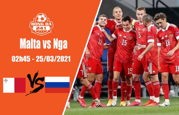 Soi kèo Vòng loại World Cup khu vực châu Âu, Malta vs Nga, 02h45 ngày 25/3