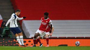 SEE Great goal by Erik Lamelas rabona at Arsenal vs