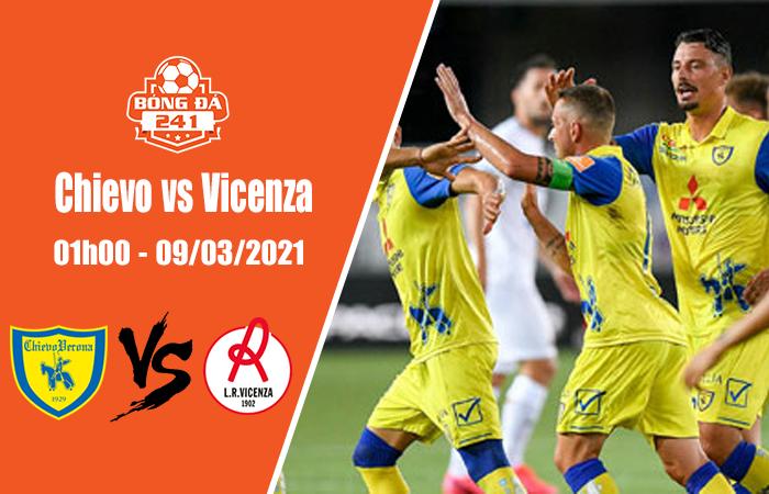 Soi kèo Chievo vs Vicenza, 01h00 ngày 9/3, Serie B