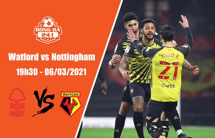 Soi kèo Watford vs Nottingham, 19h30 ngày 6/3, Hạng nhất Anh