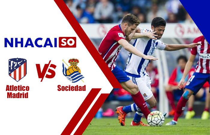 Soi kèo Atletico Madrid vs Sociedad, 03h00 ngày 13/5, La Liga