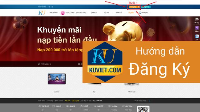 cách đăng ký Kubet