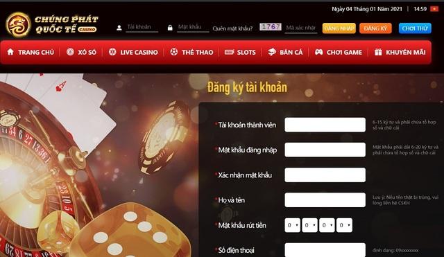 Hướng dẫn cách đăng ký Chúng Phát Casino cực đơn giản trên máy tính và di động