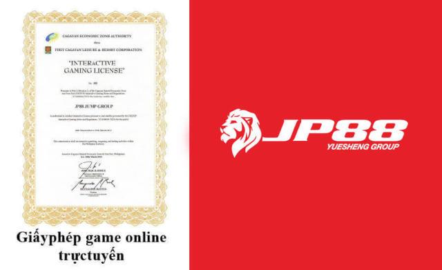 Nhà cái JP88 hoạt động hoàn toàn hợp pháp, được pháp luật bảo hộ
