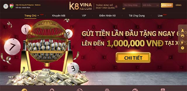 K8 Casino sử dụng các hệ thống bảo mật hiện đại để đảm bảo rằng bạn luôn an toàn
