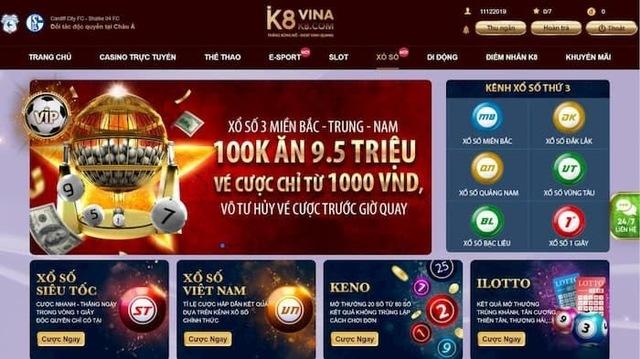 Tại sao K8 là nền tảng sòng bạc trực tuyến tốt nhất?