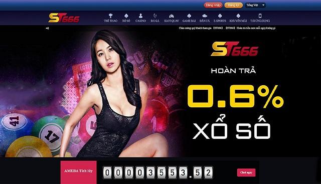 đăng ký ST666