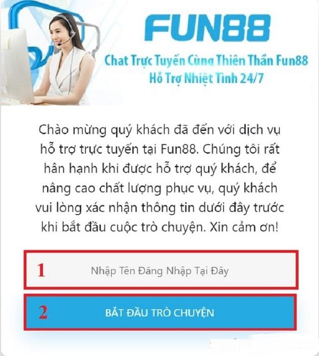 liên hệ FUN88