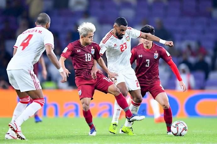 UAE vs Thái Lan
