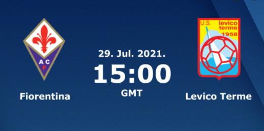 Soi kèo Fiorentina vs Levico, 22h00 ngày 29/7, Giao hữu