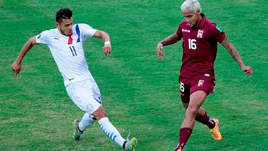 Soi kèo Paraguay vs Venezuela, 05h30 ngày 10/9 Vòng loại World Cup 2022