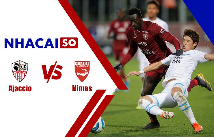 Soi kèo Nimes vs Ajaccio, 01h45 ngày 19/10 hạng 2 Pháp
